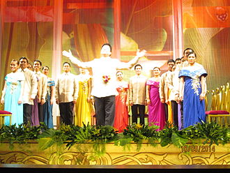 University of the Philippines Madrigal Singers - The Philippine Madrigal Singers during their PANORAMA Concert held at Abelardo Hall, UP Diliman, October 9, 2014