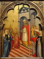 The Presentation of the Virgin by Andrea di Bartolo, c. 1400, tempera on panel - National Gallery of Art, Washington - DSC00159.JPG