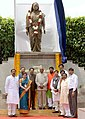 The President, Shri Ram Nath Kovind unveiled the statue of Matoshree Ramabai Bhimrao Ambedkar, at Pune, in Maharashtra.JPG