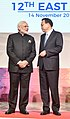 The Prime Minister, Shri Narendra Modi interacting with the Premier of China, Mr. Li Keqiang, during the 12th East Asia Summit, in Manila, Philippines on November 14, 2017 (1).jpg