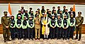 The Prime Minister, Shri Narendra Modi with the ITBP excursion groups of students from Sikkim and Ladakh, in New Delhi on February 06, 2018 (1).jpg