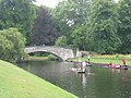 The Punt by King's College, Cambridge - panoramio.jpg