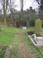The Rector's path, St Oswald's Churchyard, Guiseley - geograph.org.uk - 340823.jpg