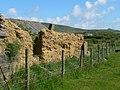 The Remains of Pen-y-bont, a cob built building at Pen-y-groeslon. - geograph.org.uk - 176767.jpg