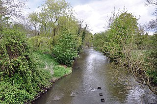 River Ely river in south Wales, United Kingdom