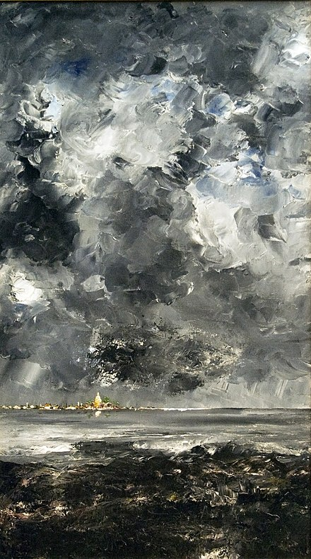 The Town - painting by Strindberg from 1903 The Town, 1903.jpg