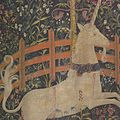 The Unicorn in Captivity (from the Unicorn Tapestries) MET DP101275.jpg