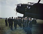 The Visit of Hm King George Vi To No 617 Squadron (the Dambusters), Royal Air Force, Scampton, Lincolnshire, 27 May 1943 TR1000.jpg