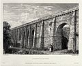 The aqueduct at Arceuil. Engraving by I.C. Allen, 1822, afte Wellcome V0020179.jpg