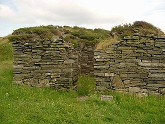 History of popular religion in Scotland - Remains of a chapel on Eileach an Naoimh