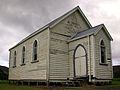 The old Pakiri Church, a popular backdrop for wedding photographs.JPG