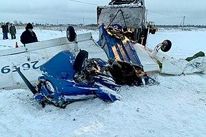 The wreckage of Piper PA-28-180 Cherokee B RA-2659G (2).jpg