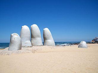 Punta del Este - The fingers of Punta del Este.