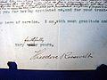 Theodore Roosevelt resignation 005 (signature).jpg