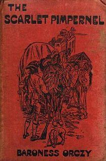 <i>The Scarlet Pimpernel</i> Novel by Emma Orczy