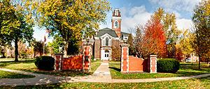 Simpson College - College Hall at Simpson College