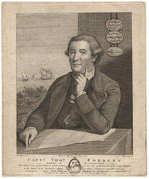 Thomas Forrest (navigator) - Thomas Forrest (1779)