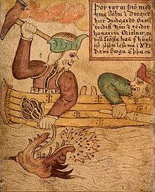 Jormundgander Wikipedia La Enciclopedia Libre