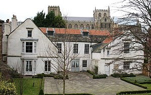 Ripon - The house where Stuart King James I stayed in 1617