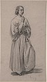 Three-Quarter View of a Standing Male Robed Figure MET DP805710.jpg