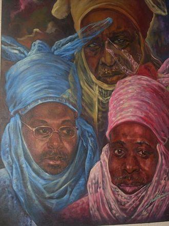 Kazaure - The 7th, 9th and 10th Emirs of Kazaure's Yarimawan Fulani Dynasty