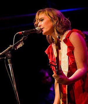 Tift Merritt - Merritt on stage in Seattle during 2010