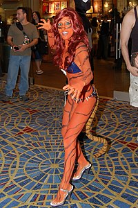 Cosplay de Tigra, Comic Con 2008