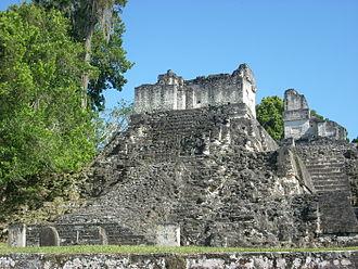North Acropolis, Tikal - Temple 34