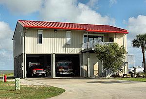 Tiki Island, Texas - Image: Tiki Island TX Police and Fire Departments