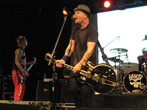 Tim Armstrong - Armstrong in Nashville, Tennessee, on June 27, 2008
