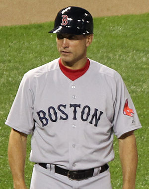Tim Bogar - Bogar as Red Sox' third base coach in 2011