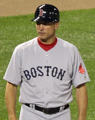 Tim Bogar - Bogar as Red Sox' third base coach in 2011