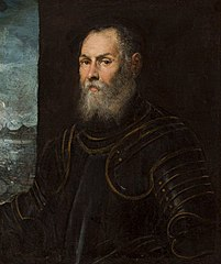 Portrait of a Venetian admiral.