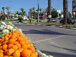 Tira, Israel - Tira's southern entrance