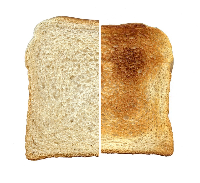 Is toasting bread a chemical change? - provoiceartists.com