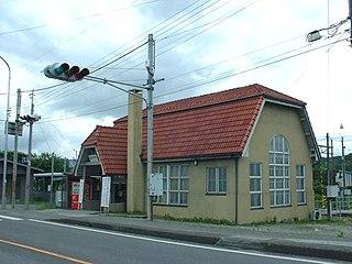Toriimoto Station Railway station in Hikone, Shiga Prefecture, Japan