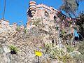 Torreón del Cerro Santa Lucía desde la Plaza Pedro de Valdivia.jpg