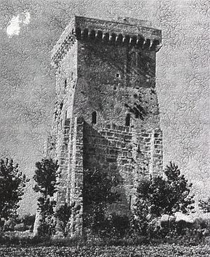 Pandulf Ironhead - Pandulf's tower on the Garigliano