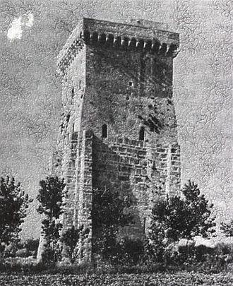 Pandulf Ironhead - Pandulf's tower on the Garigliano