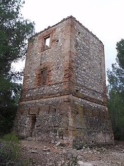 550f89546eeb0 Torre de telegrafía óptica de Godelleta - Wikipedia
