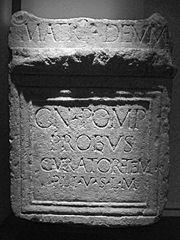 Autel votif dédié à la Mère des dieux par Aulus (Ra 220)