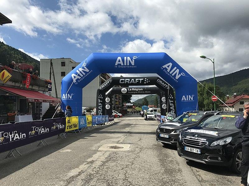 Tour de l'Ain 2017 - étape 4 - Lélex.