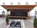 Town Hall, courtyard, stage, 2019 Kiskunhalas.jpg