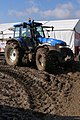 Tractor in the mud at the New Forest Show 2007, New Park - geograph.org.uk - 505500.jpg