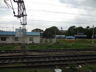 Chennai Central railway station - Train Care Centre