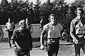 Trainer Kees Rijvers (l) met René van de Kerkhof (met hand in het gips), Bestanddeelnr 930-5019.jpg
