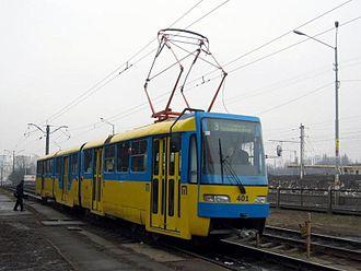 Kiev Light Rail - Image: Tram K3R N in Kyiv