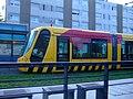 Tram at Châtaignier, Ligne 1.jpg