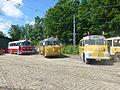 Tram parade at Sporvejsmuseet - After the parade 17.JPG