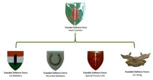 Transkei Defence Force - Transkei Defence Force insignia